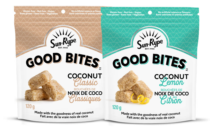 Good Bites Coconut two pouches