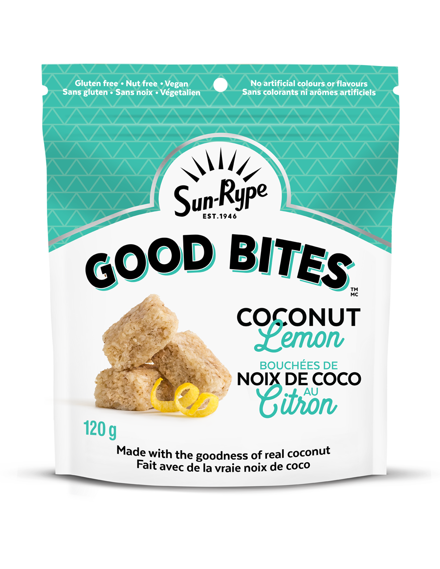 Good Bites Coconut Lemon